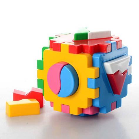 """Гр Куб """"Розумний малюк"""" Логіка-1"""" 2452 (24) """"ТЕХНОК"""", фото 2"""