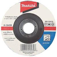 Зачисной диск по нержавейке выгнутый Makita 180 мм (A-80880)