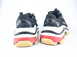 Balenciaga Triple-S Black/White ум, фото 3