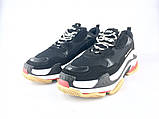 Balenciaga Triple-S Black/White ум, фото 5