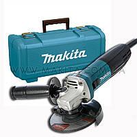 Угловая шлифовальная машина Makita GA 5030 + Кейс