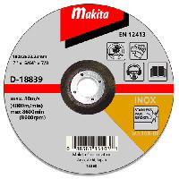 Отрезной диск по нержавейке Makita 180 мм (D-18839)