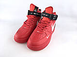 Nike Air Force High Red, фото 2