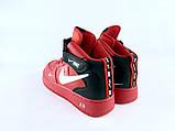 Nike Air Force High Red, фото 3
