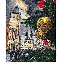 """Картина по номерам """"Рождественские каникулы"""", в термопакете 40*50см (KHO3562)"""