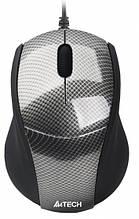 Миша A4Tech N-100-1 Carbon, USB V-Track
