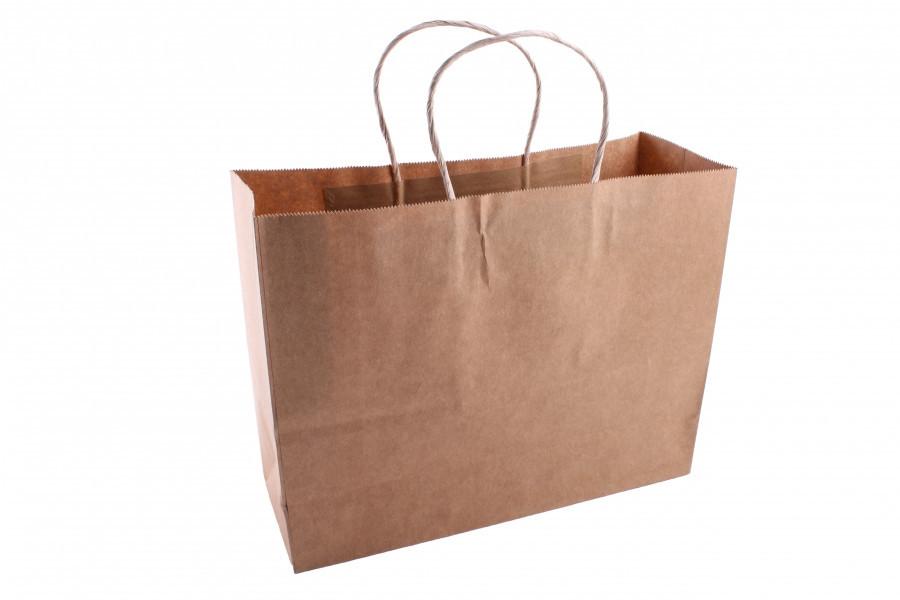 Подарочный пакет крафтовый 3-2711