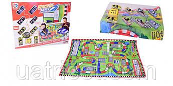 Игровой коврик RUN CHENG с машинками 8289 Разноцветный (8289B/C (1625860/93))