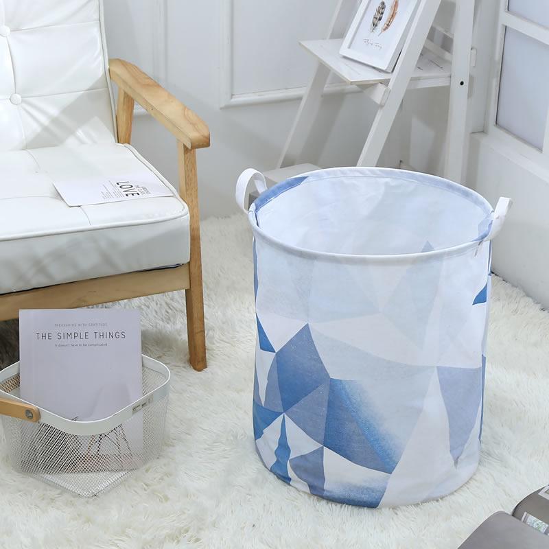 Корзина для игрушек, белья, хранения Синий градиент Berni Home