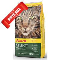 Сухой корм для котов Josera NatureCat 400 г