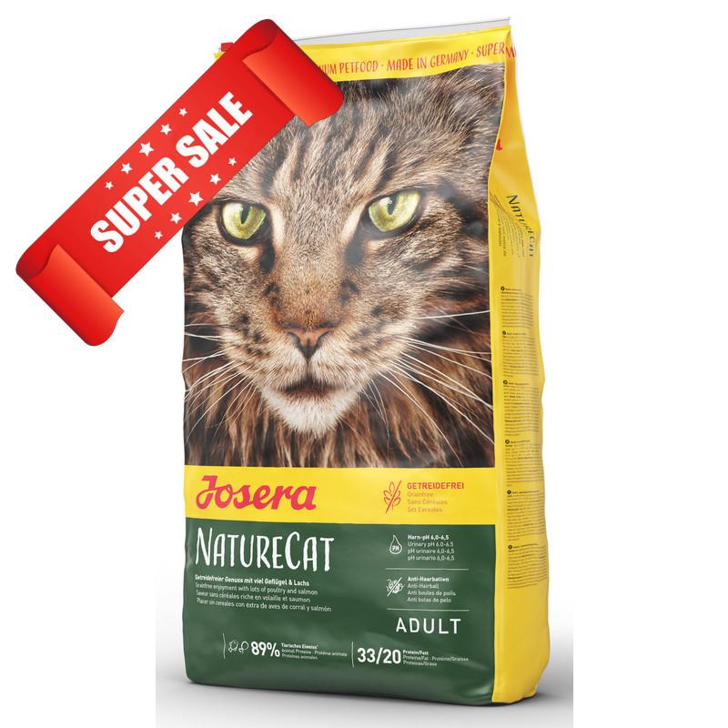 Сухой корм для котов Josera NatureCat 10 кг
