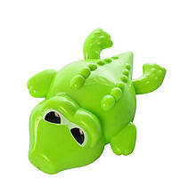 Водоплавающая игрушка KAICHI K999-209 Крокодил заводная Зеленый (K999-209-4)