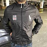 Мужская весенняя куртка Polo черная, фото 2