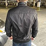 Мужская весенняя куртка Polo черная, фото 4