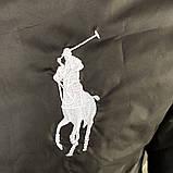 Мужская весенняя куртка Polo черная, фото 6