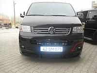 Volkswagen T5 Transporter 2003-2010 гг. Передняя нижняя юбка (под покраску)