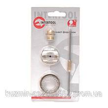 Комплект форсунки 2.2мм для краскопульта HP РТ-0204,PT-0205,PT-0210,PT-0211 (дюза, воздушная головка, игла) INTERTOOL PT-2007