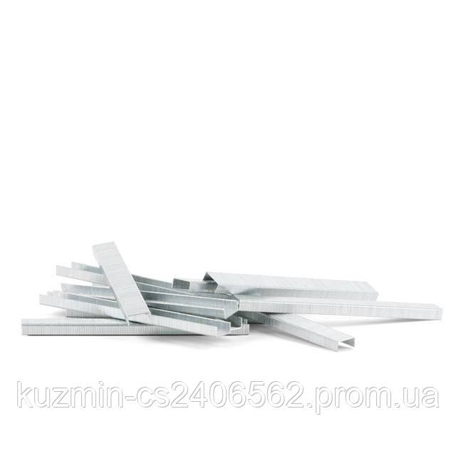 Скоба для степлера РТ-1610 6*12.8мм (0.9*0.7мм) 5000шт/упак INTERTOOL PT-8006