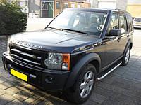 Land Rover Discovery IV Боковые площадки Fullmond (2 шт, алюм.)