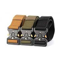 Пояс тактический Tactical Belt (оливковый, черный)