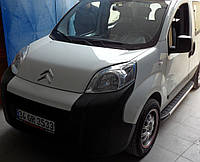 Peugeot Bipper 2008+ гг. Боковые площадки Fullmond (2 шт, алюм.)