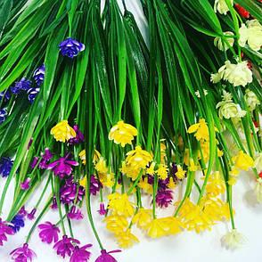 Искусственная, декоративная трава-осока., фото 2