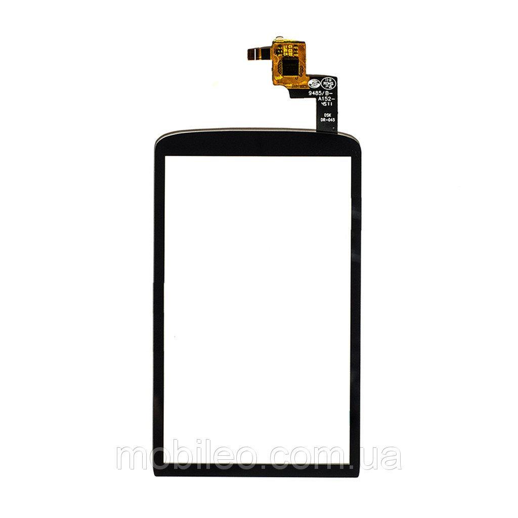 Сенсорный экран (тачскрин) ZTE V960 | Skate чёрный