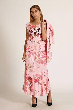 Костюм (блуза, жакет, юбка) Weill Aidi 52 Розовый (Z-1805_Pink)