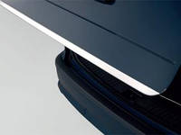Kia Picanto 2011+ гг. Кромка багажника (нерж.)