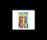 Набір кольорової крейди для малювання з утримувачем (3 кольори)(13695)