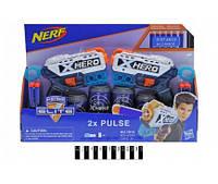"""Набір пістолетів """"NERF"""" на поролонових кулях (коробка) 7013 р.40*6*27см.(7013)"""