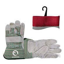 Перчатка замшевая INTERTOOL SP-0151