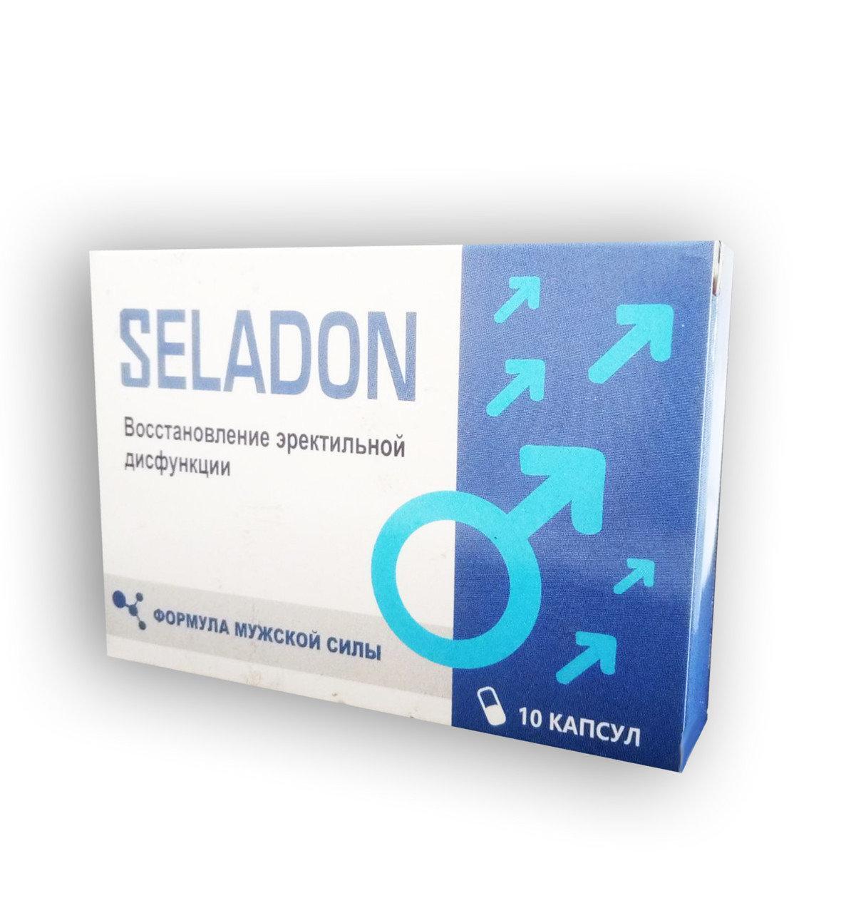 Seladon - Капсулы для укрепления эректильной функции (Селадон) ViP