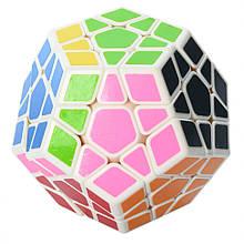 Головоломка мегаминкс QiYi MofangGe 0934C-5 QiYi X-Man Megaminx White-Base Разноцветный
