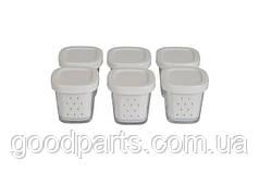 Набор стаканчиков (баночек) для йогуртницы Tefal XF100032