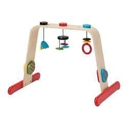 ИКЕА (IKEA) ЛЕКА, 701.081.77, Тренажер для младенца, береза, разноцветный - ТОП ПРОДАЖ