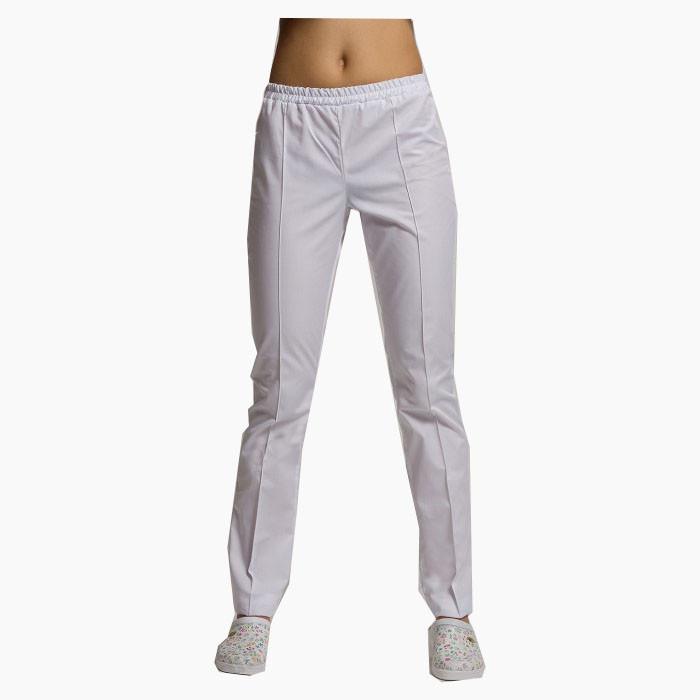 Медицинские штаны белые №5