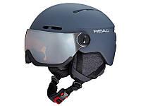 Гірськолижний шолом Head Knight Pro Anthracite 2020 + додаткове скло