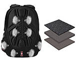 Вместительный рюкзак SwissGear, свисгир. Черный с синим. 35L / 7697 blue Vsem, фото 5