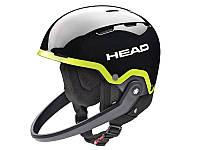 Горнолыжный шлем Head Team SL + Chinguard Black Lime 2018