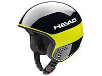Горнолыжный шлем Head Stivot Race Carbon Black Lime 2017