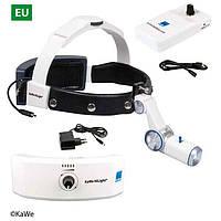 Налобный осветитель HiLight® LED H-800 с аккумулятором для головного обруча и для крепления на ремень (EC / ВБ / США)