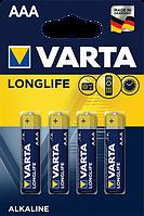 Батарейка Varta Longlife AAA BLI 4 Alkaline (04103101414)
