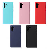 TPU чехол Candy для Samsung Galaxy Note 10 2019 N970 (Разные цвета)