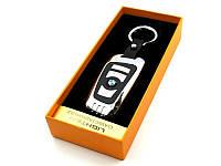 USB Зажигалка-брелок BMW Серый с черным
