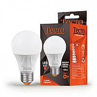 Лампа LED Tecro PRO-A60-7W-4K-E27 7W 4000K E27