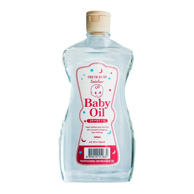 Детское масажное масло White Organia Seed & Farm Baby с эфирными маслами и маслом макадамии 600 мл (162695)