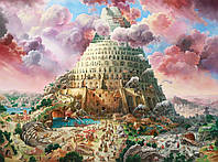 Пазлы Вавилонская башня, Tower of Babel на 3000 элементов