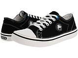 Кеды для подростка Кроксы текстильные / Crocs Men's Hover Lace-Up Sneaker (11366), Черные 34, фото 2