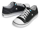Кеды для подростка Кроксы текстильные / Crocs Men's Hover Lace-Up Sneaker (11366), Черные 34, фото 3